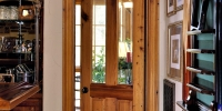 Cypress patio door