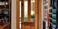 Cypress patio door