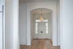 entrance white oak flooring