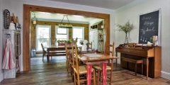 Barnwood Oak Flooring, Old Pine Beams, Silvan wall Paneling (1)