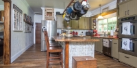Barnwood Oak Collection Flooring Kitchen