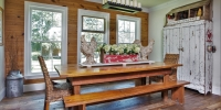 Barnwood Oak Flooring, Pine Wood Wall Paneling