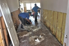 Houston Home Remodel Hallway Before