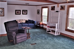 Tennessee Cabin Remodel Living Room Before