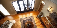 Entrance Hallway Pine Flooring
