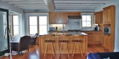 Kitchen Design Pine Cabinets Pine Flooring