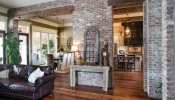 Orleans Floors with Exposed Beams