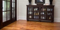 Entrance Hall Pine Flooring