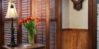 Custom kitchens by Albany Woodworks, a national supplier of antique wood.