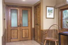 Copy of Antique Cypress Entry Doors, Sinker Cypress Shutter Doors, Wainscoting & Trim