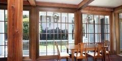 Old Pine Beams, Custom Cypress Windows, Orleans Collection Flooring aka Dirty Top