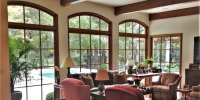 Custom window family room