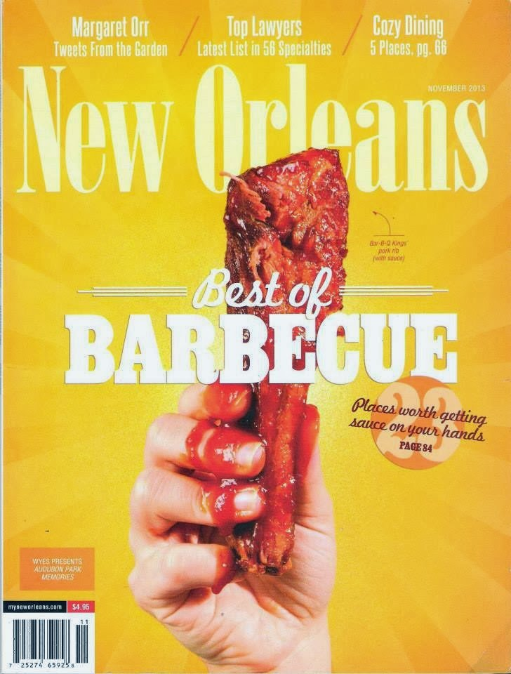 "Bayou Boards™ Featured in New Orleans Magazine ""Best of Barbecue"" Issue"