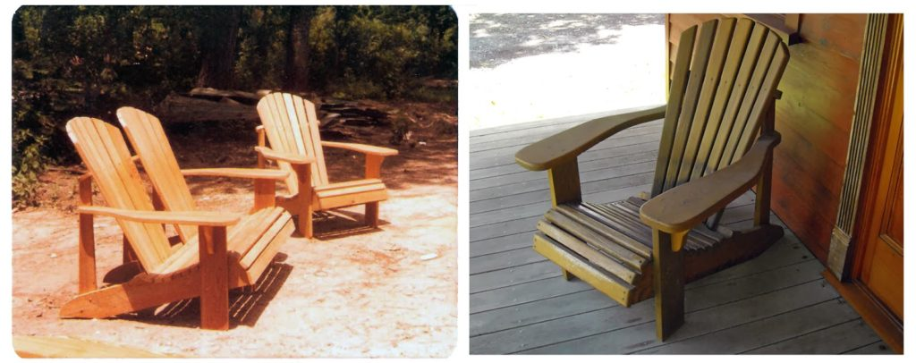 Antique Cypress Adirondack Chairs that are Built to Last