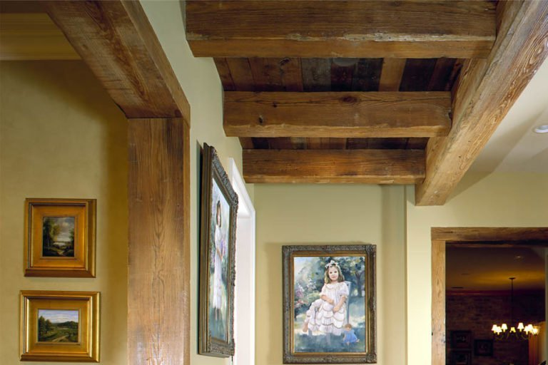 Reclaimed Pine Beams 2