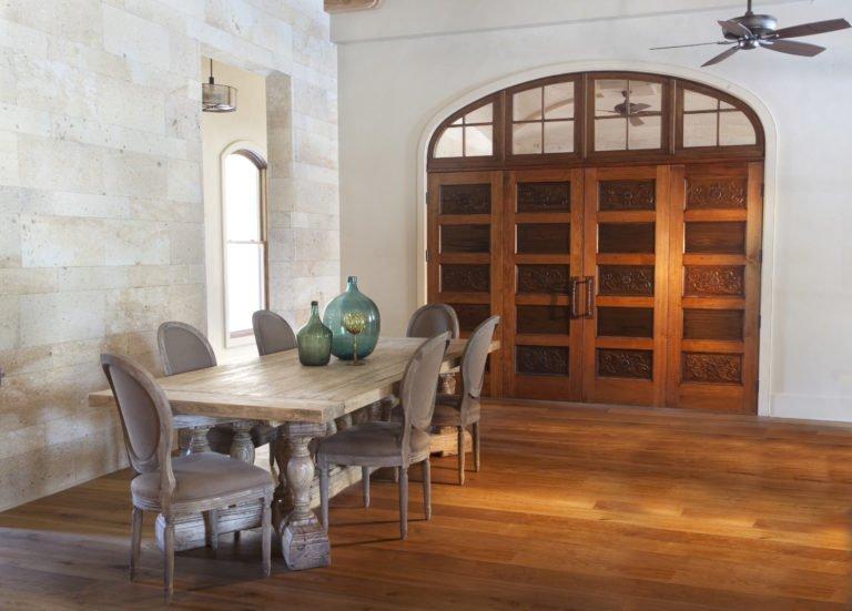 White Oak Flooring, Old Pine Beams, Custom Cypress Doors