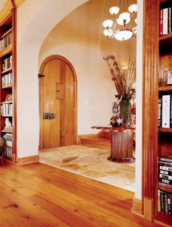 Sinker Cypress Custom Castle Door