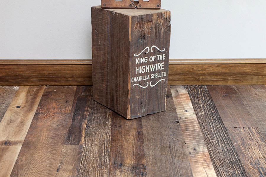 Engineered Flooring with Reclaimed Roots