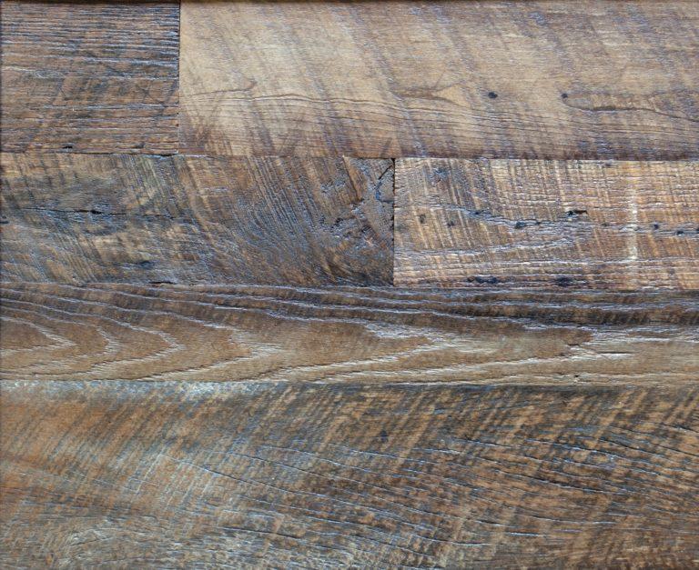 Barnwood Oak Flooring Closeup