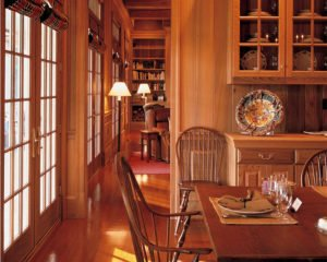 Sinker Cypress Cabinets, Doors, Paneling and Baseboards