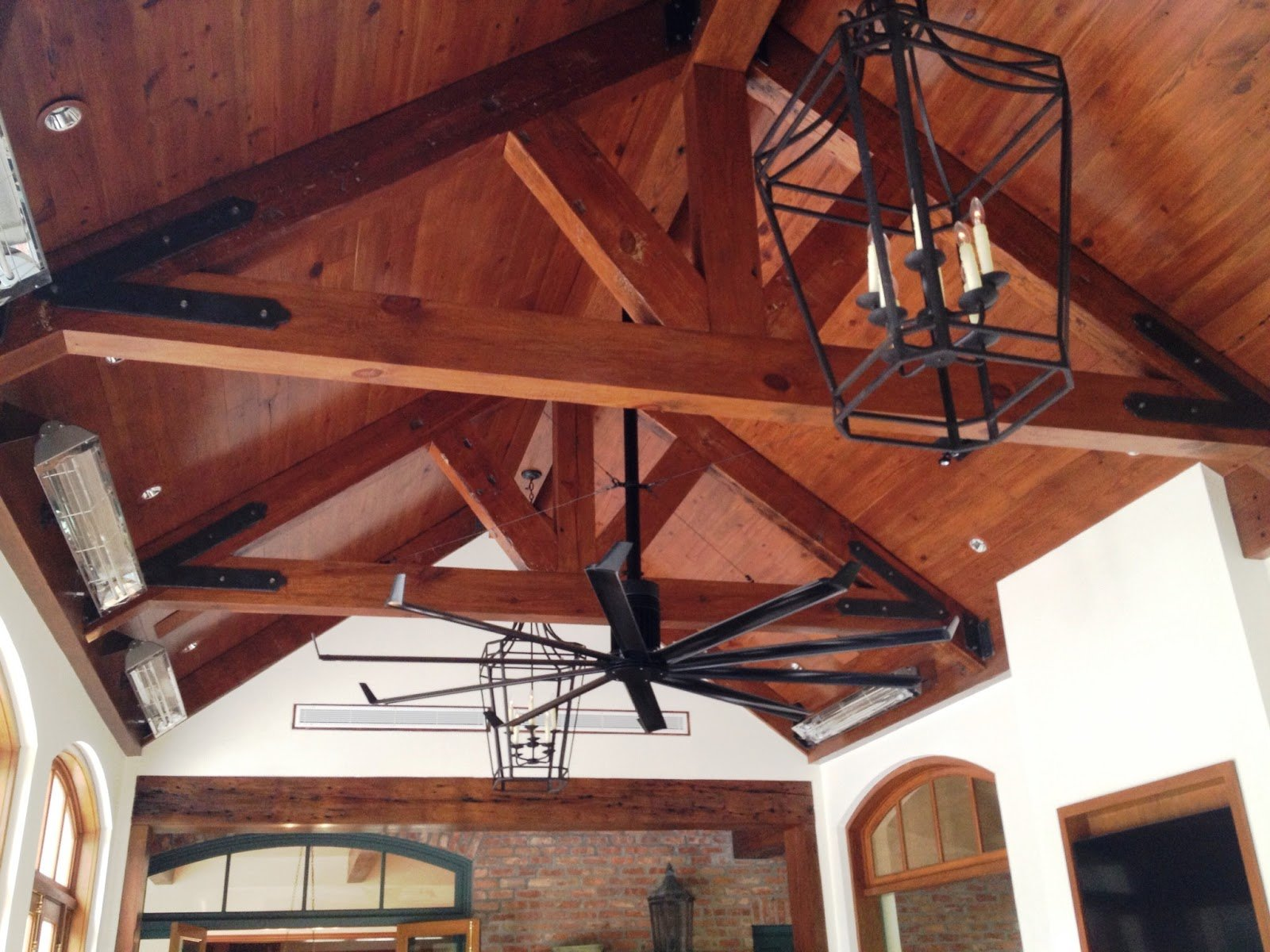 Beams And Wood Ceiling